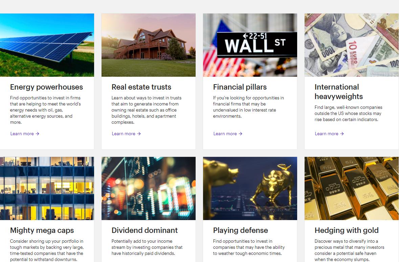 ESG investing - E*TRADE