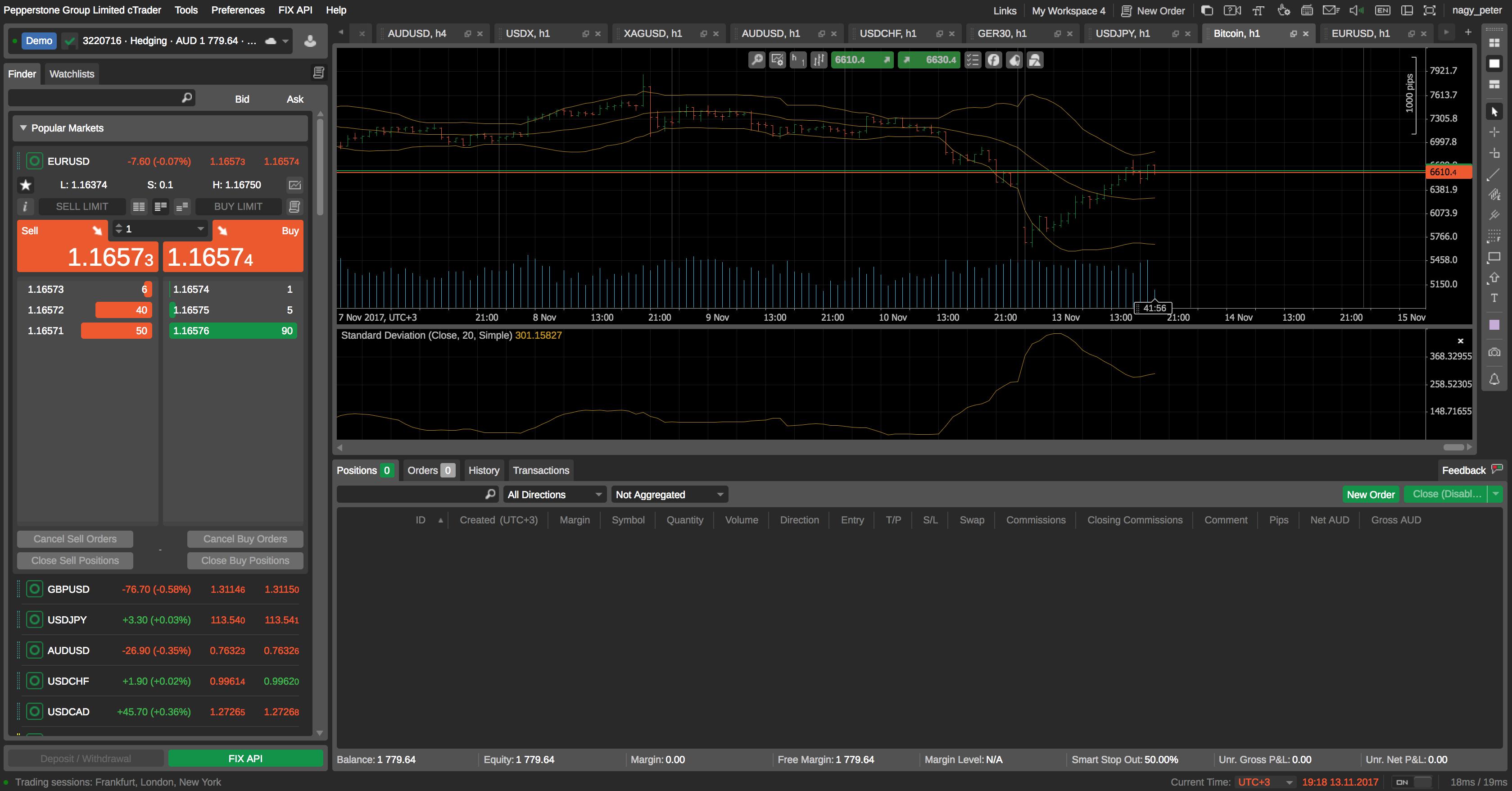 Forex brokers web platform