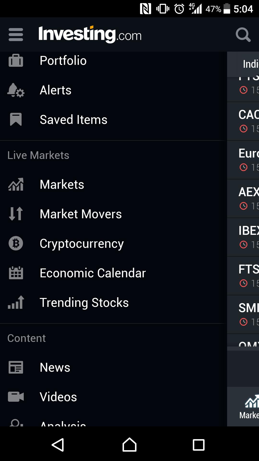 Best-trading-apps-Investing.com-menu