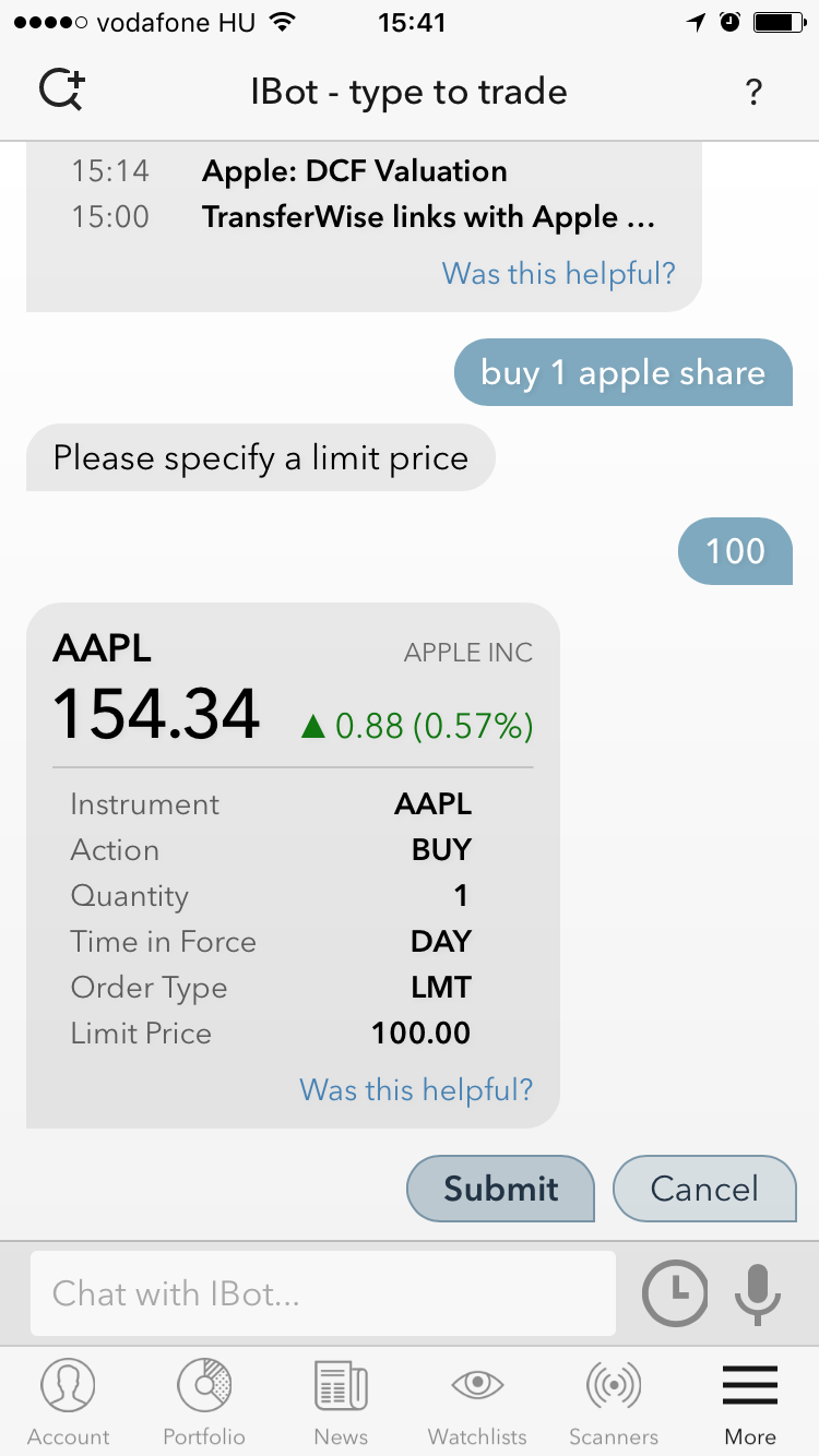 Interactive-brokers-review-mobile-platform-chatbot-buy-apple-shares