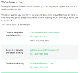 Internaxx-Review-Customer-Service