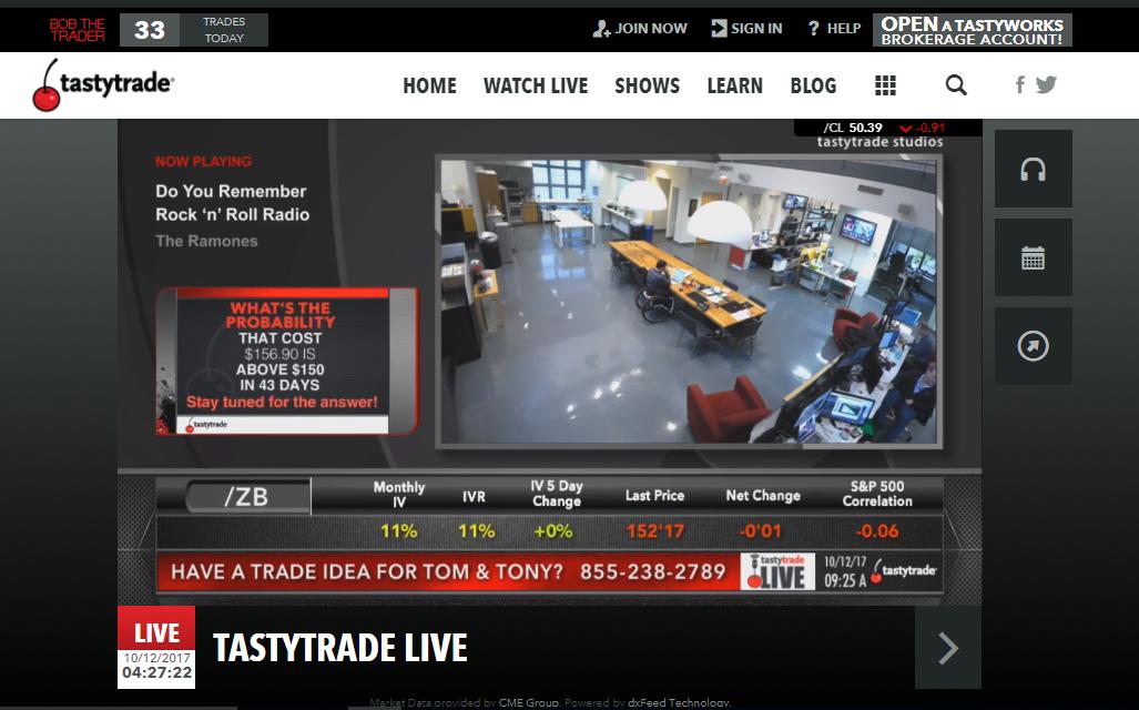 Tastyworks review - Web Trading platform - tastytrade2