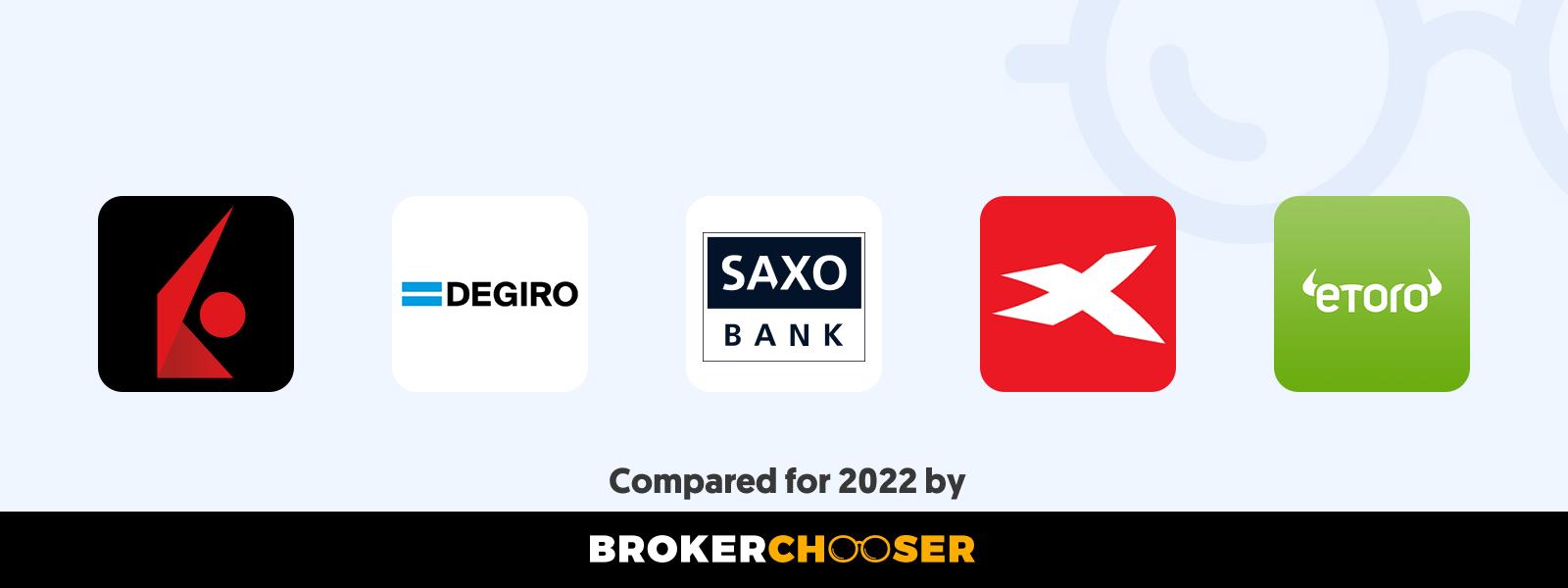 Best international online brokers for citizens in Sweden