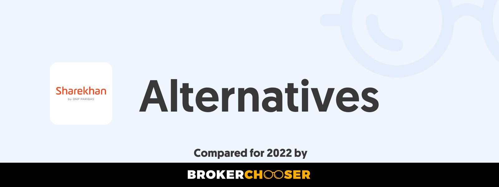 Sharekhan Alternatives