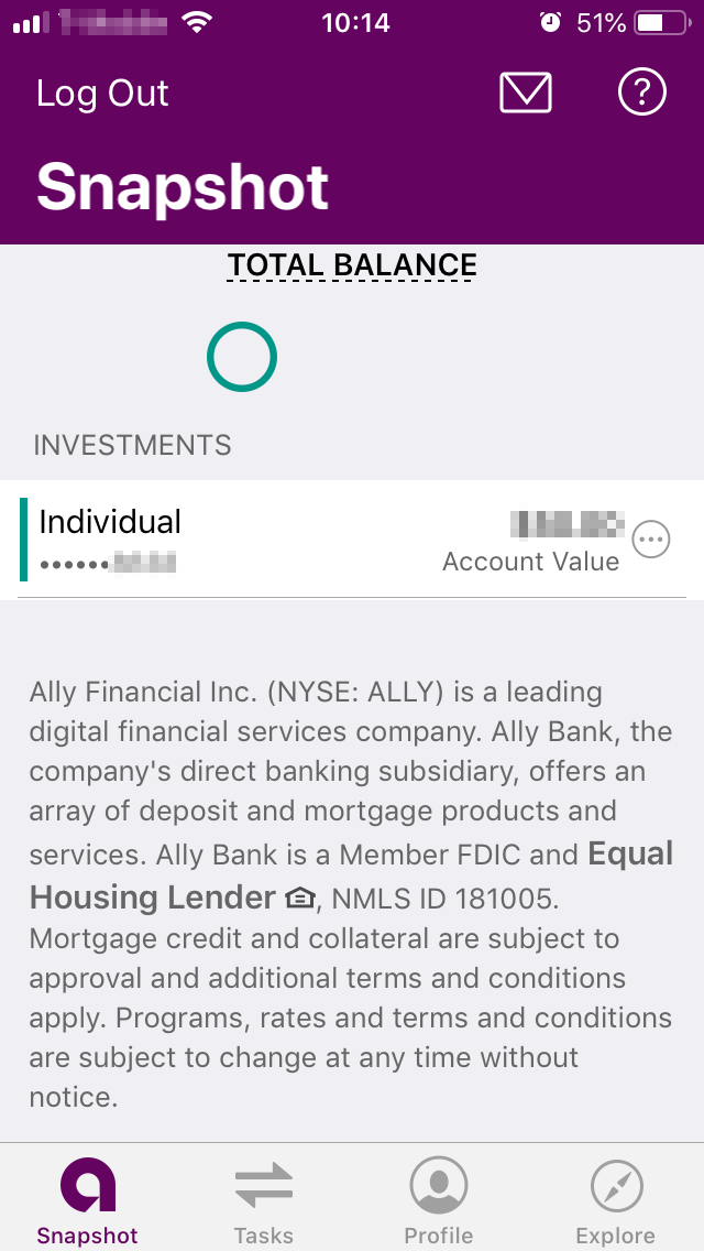 Ally Invest review - Mobile trading platform