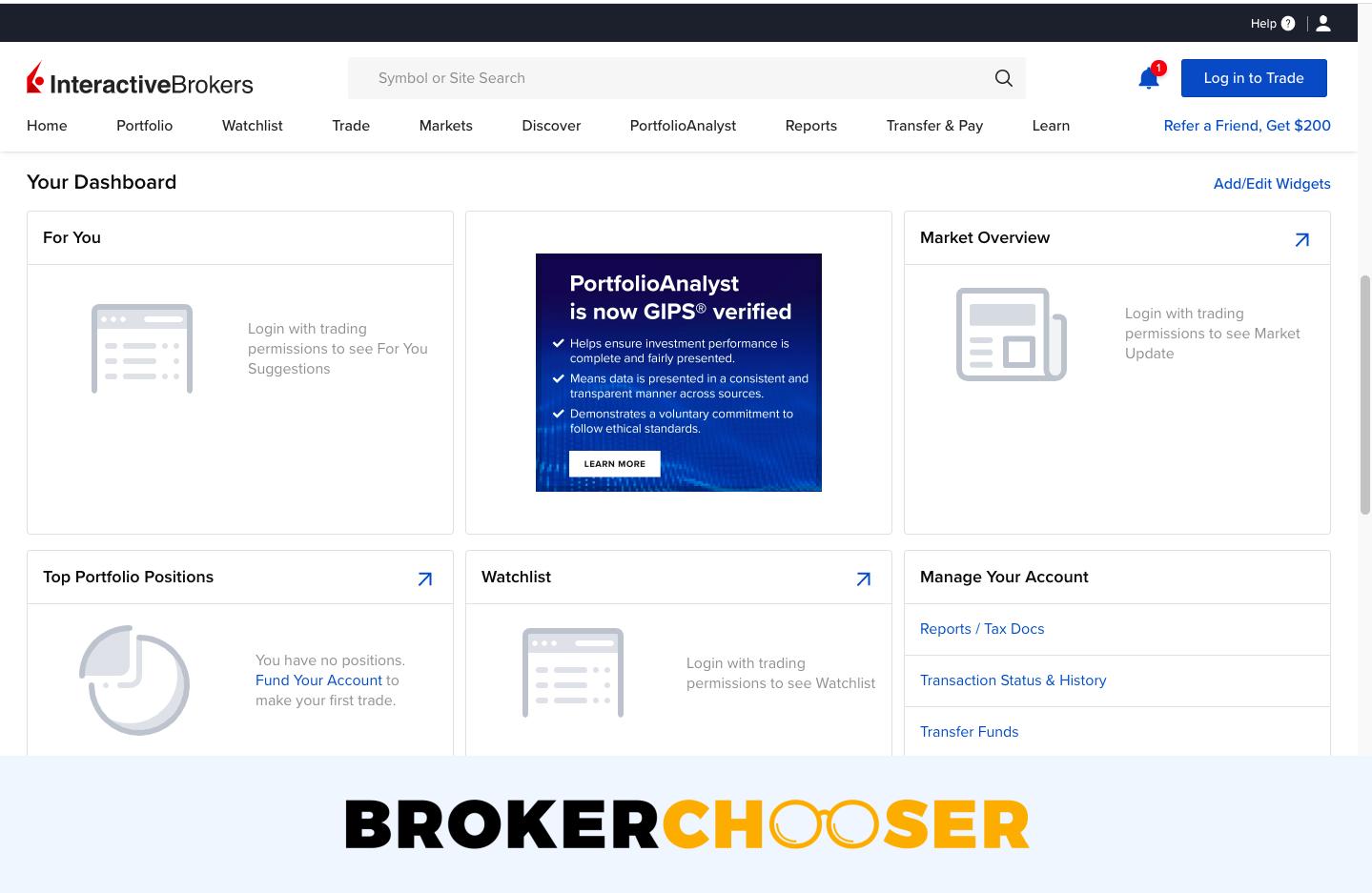 ARMO Broker review - Web trading platform