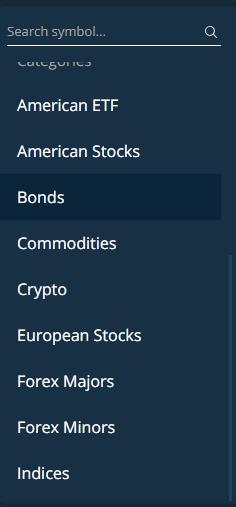 AvaTrade review - Web trading platform - Search