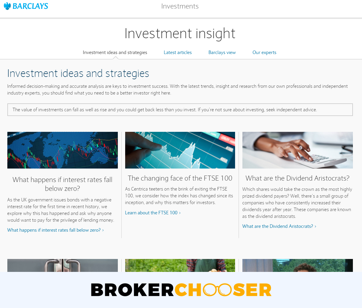 Barclays review - Research - Recommendations