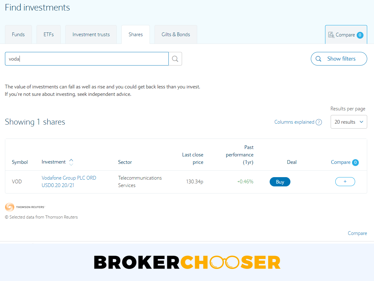 Barclays review - Web trading platform - Search