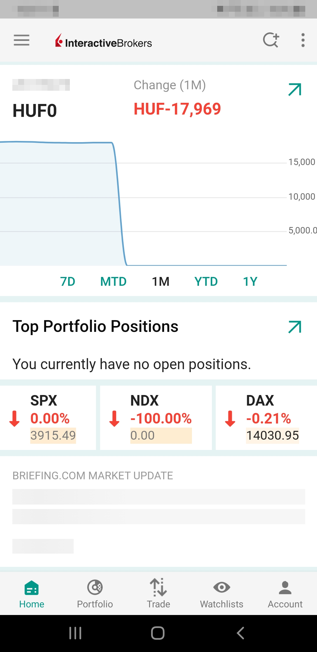 Brokerpoint review - Mobile trading platform