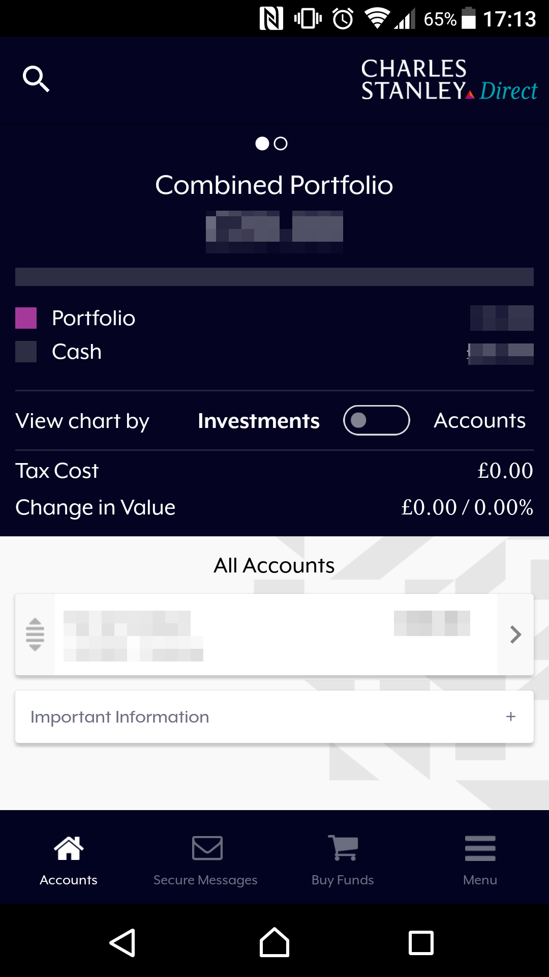 Charles Stanley Direct review - Mobile trading platform