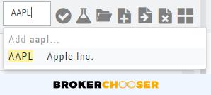 ChoiceTrade review - Desktop trading platform - Search