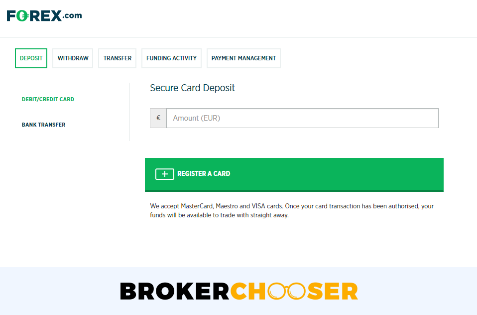 Forex deposit not received by broker