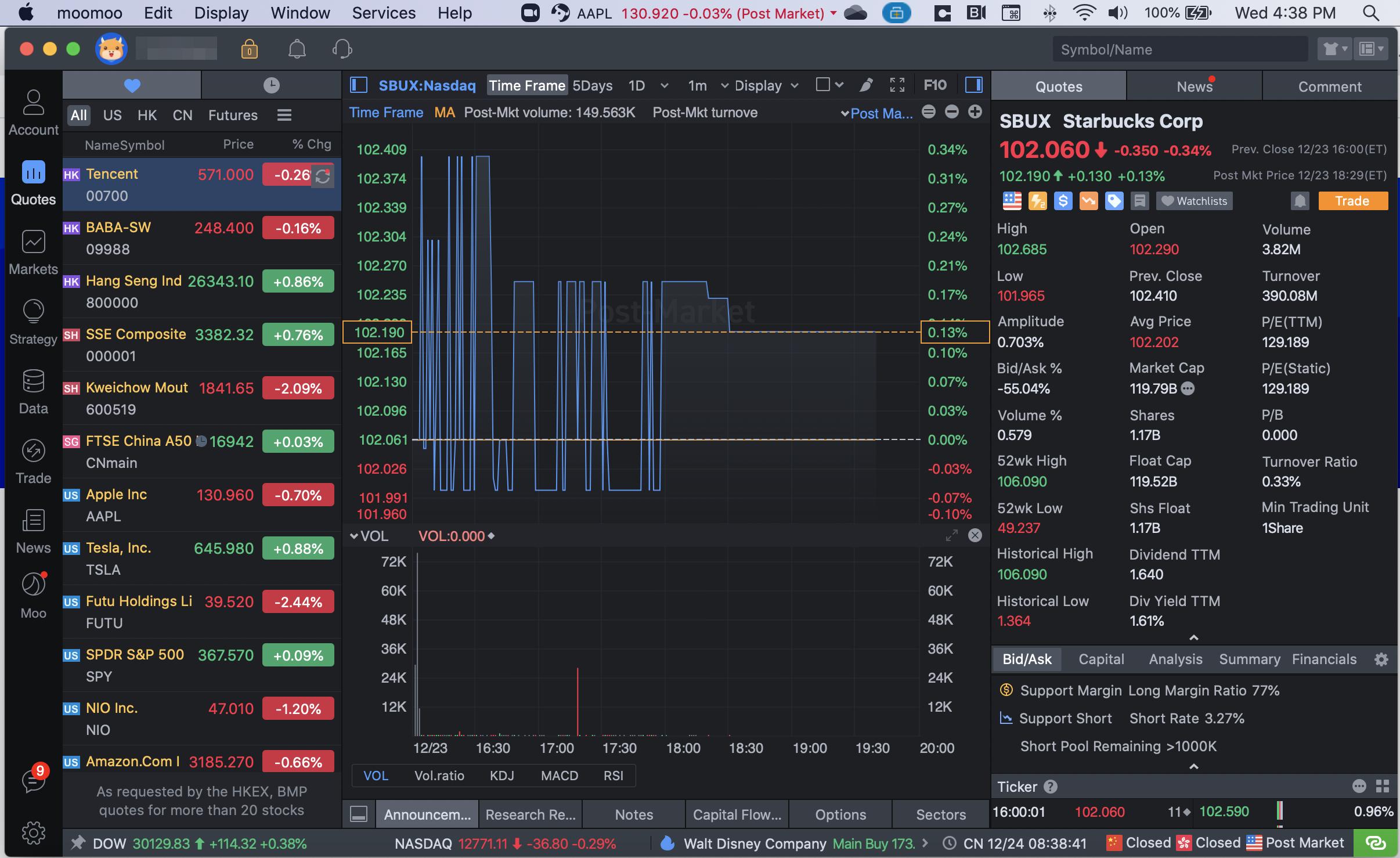 MooMoo review - Desktop trading platform