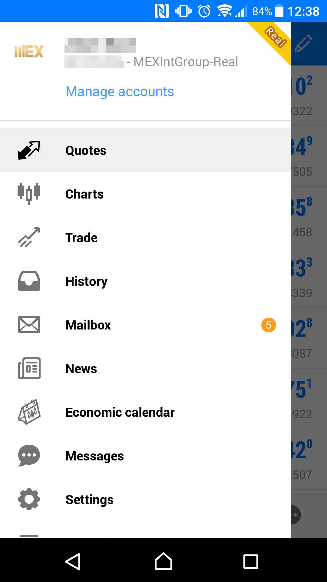MultiBank review - Mobile trading platform