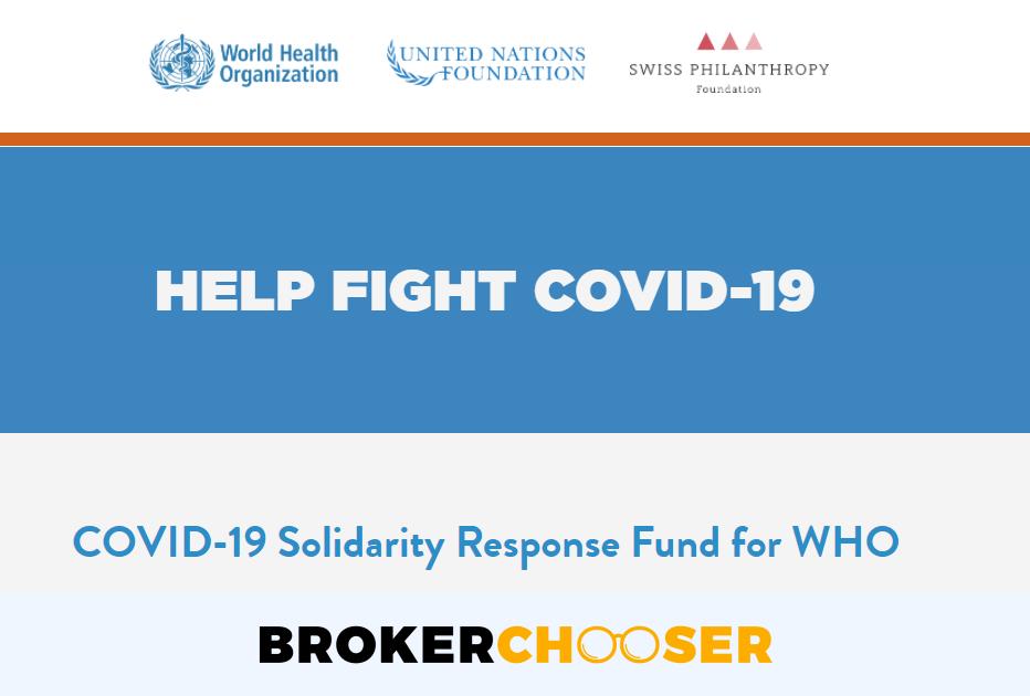 World Health Organization - Covid-19 fund