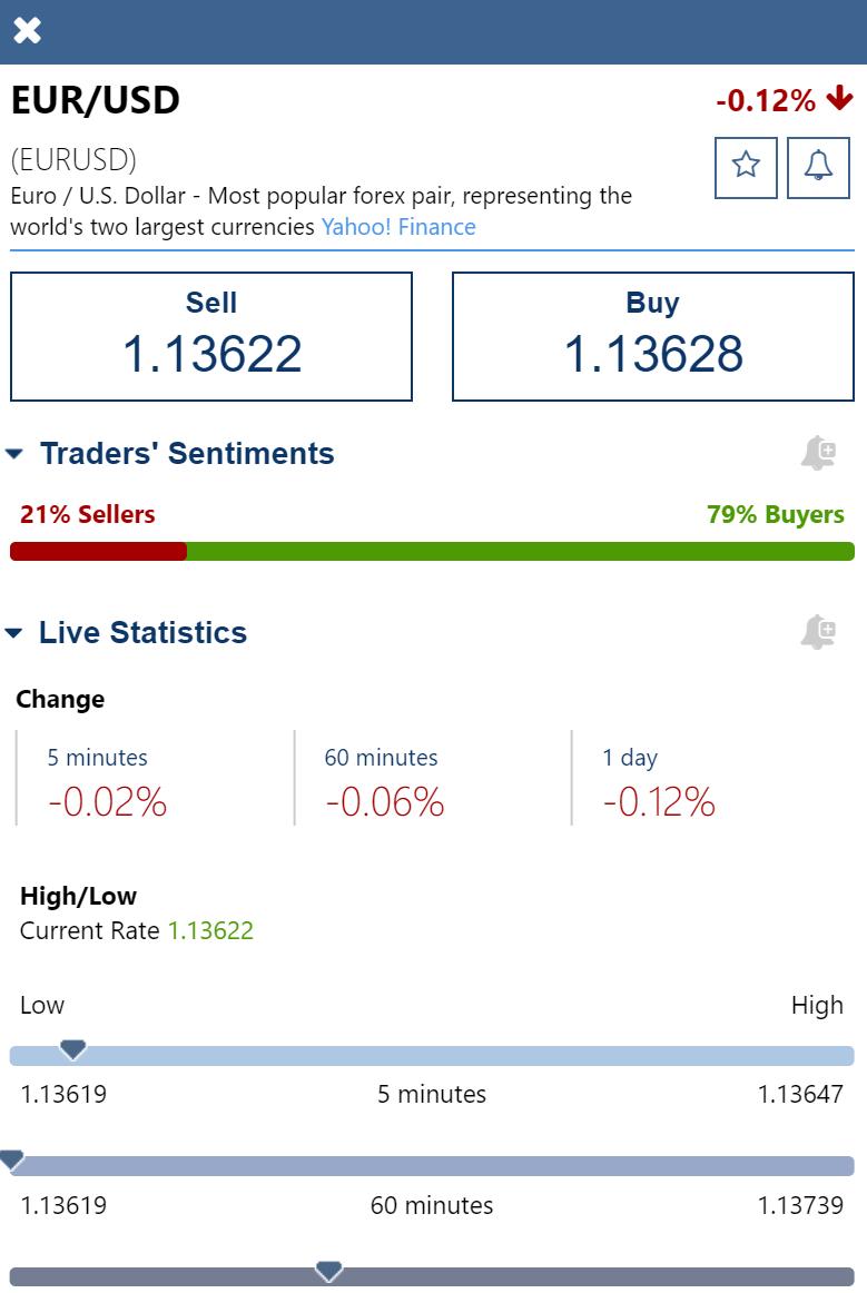 Plus500 review - Web trading platform - Order panel