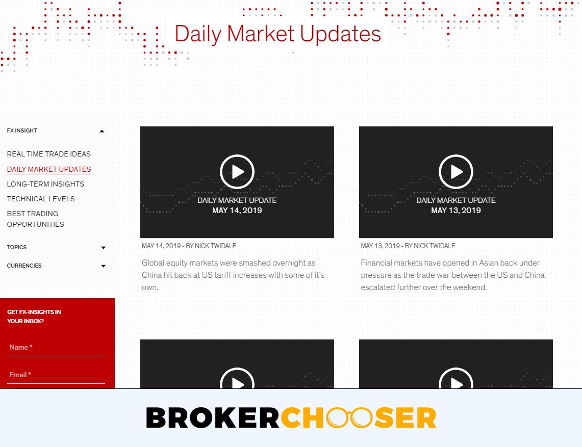 Rakuten Securities review- Research - Daily Market Updates