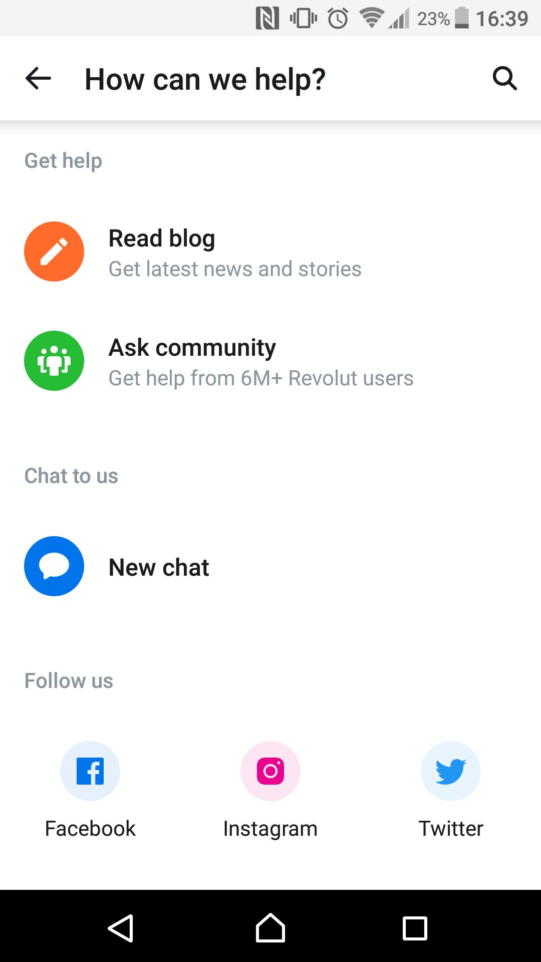 Revolut review - Customer Service