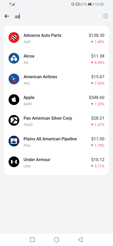 Revolut review - Mobile trading platform - Search