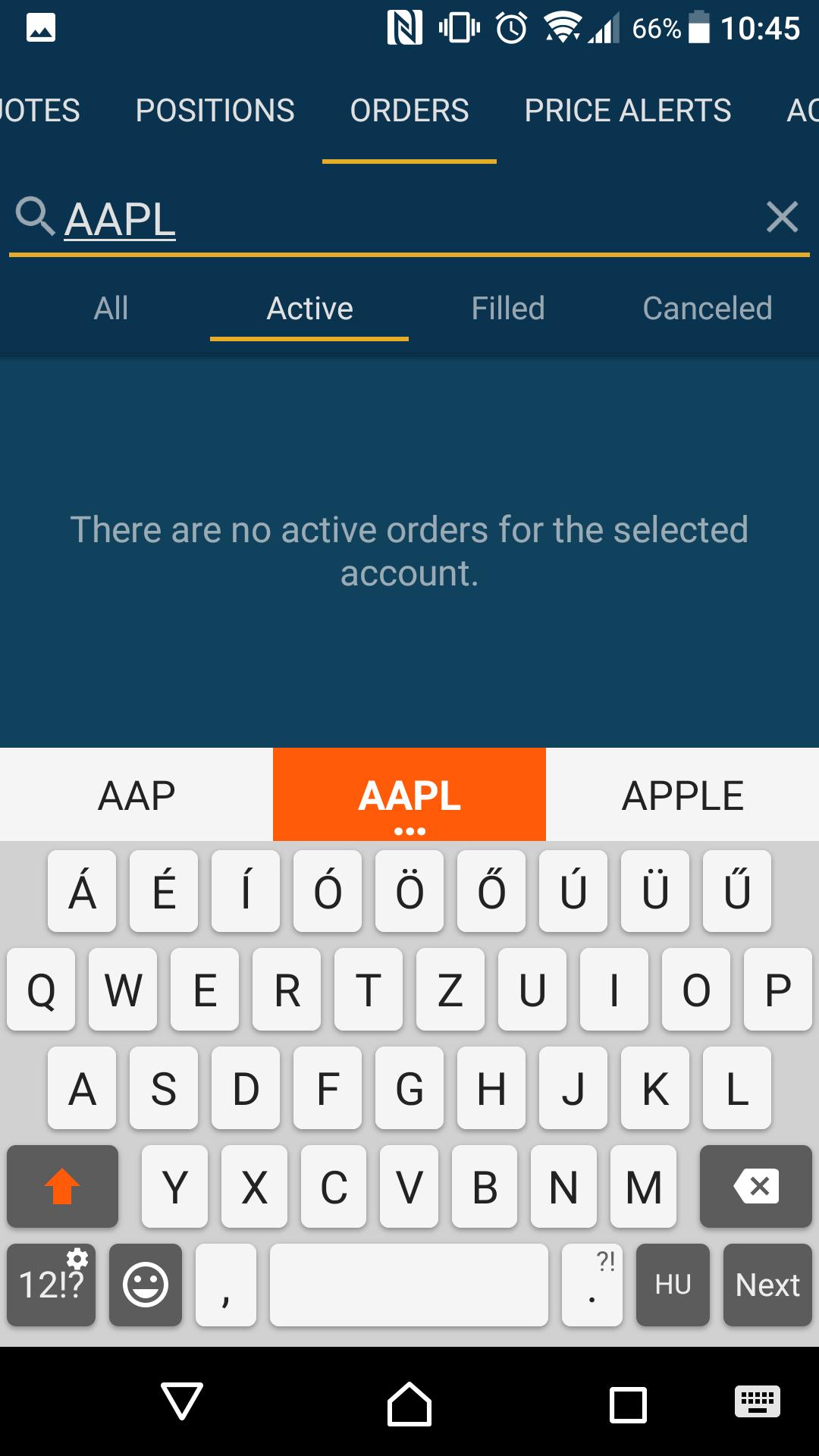SogoTrade review - Mobile trading platform - Search