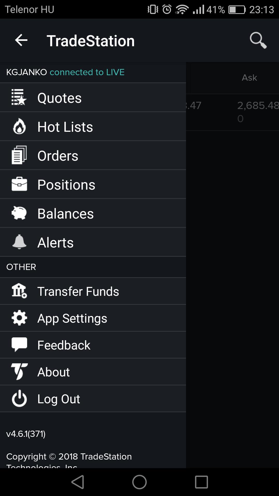 Tradestation review - Mobile trading platform