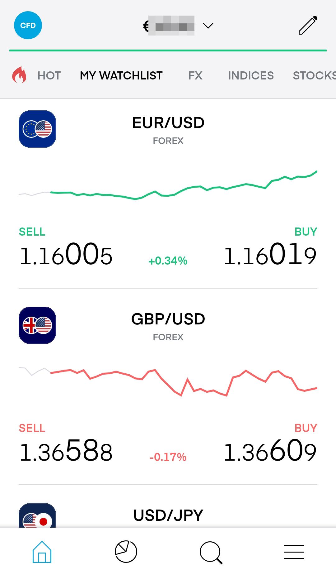 Trading 212 review - Mobile trading platform