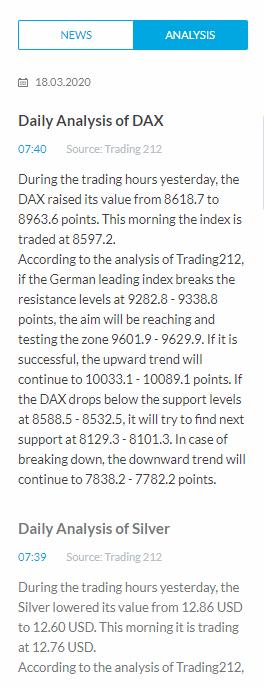 Recensione di Trading 212 - Ricerca - Raccomandazioni