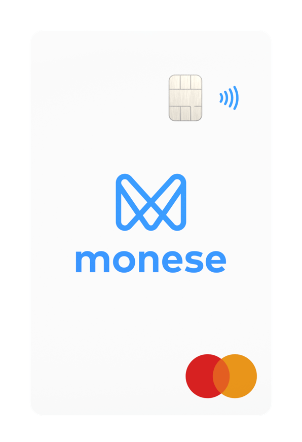 Monese review - bank card
