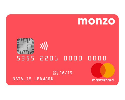 Monzo-review-bank-card