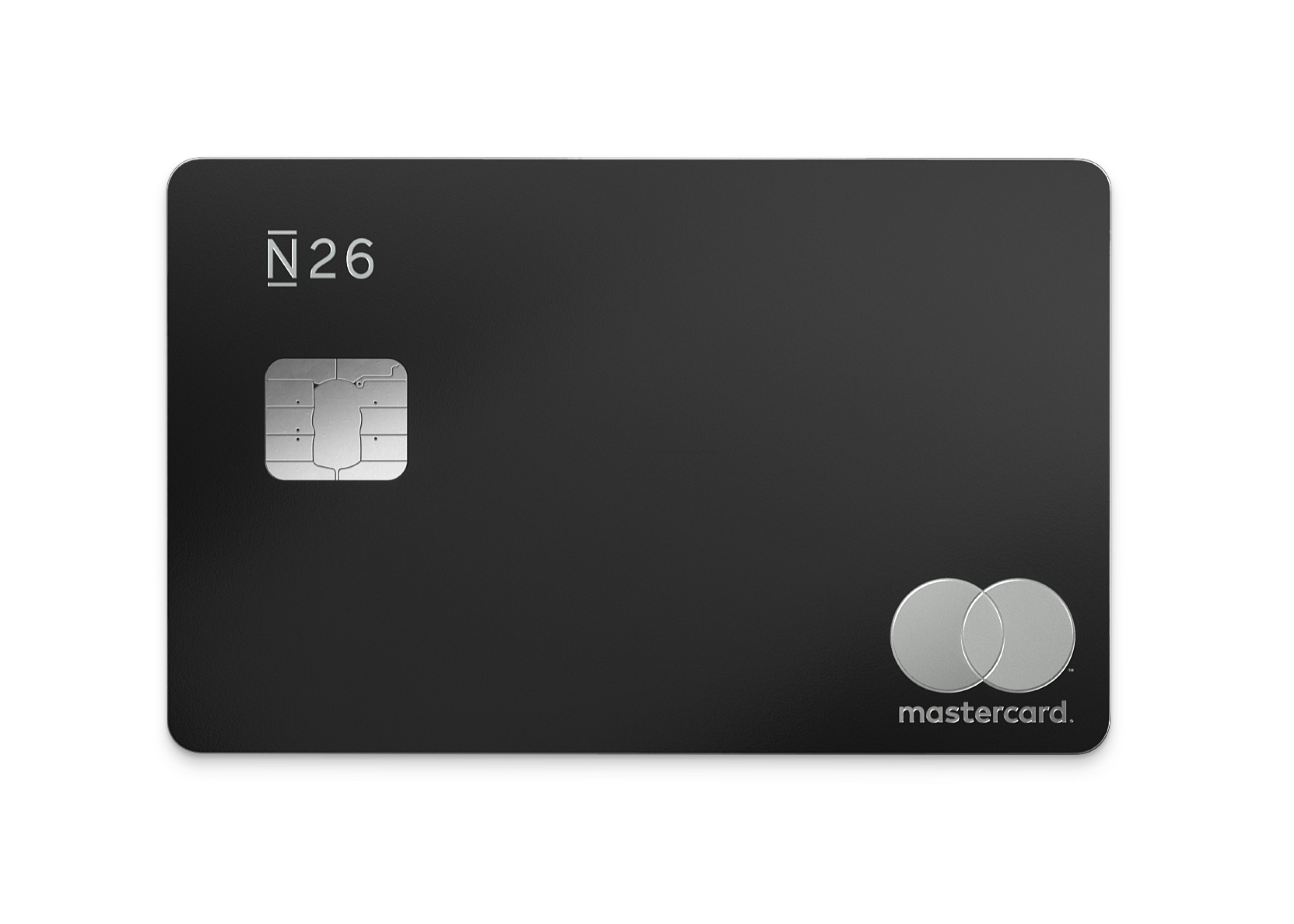 N26 review - N26 bank card sample