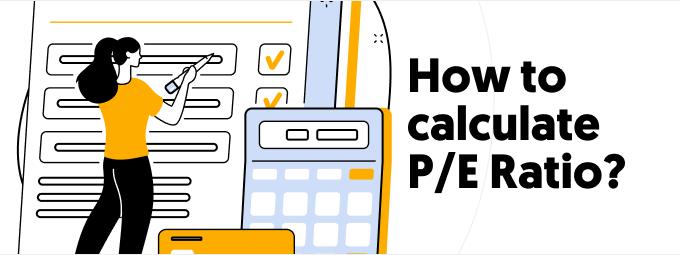 How do you calculate the P/E ratio?