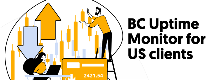 Stock Broker Uptime Monitor for US Clients